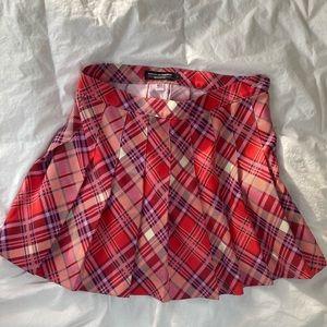 American apparel pleated skirt